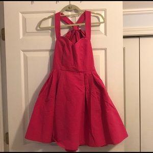 hot pink lauren james dress